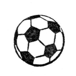 Fussball dünn