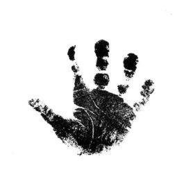 Hand rechts gross