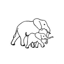 Kids Elefantenmutter