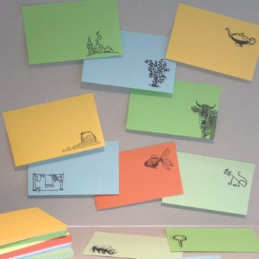 stamp-it, post-it